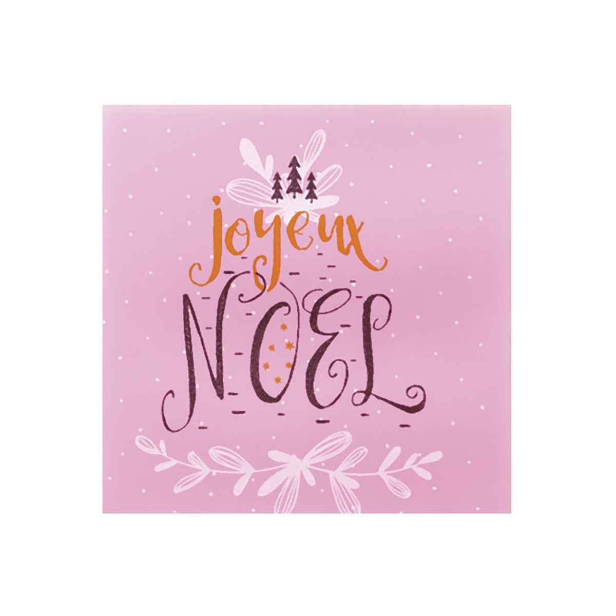 Www Joyeux Noel.120 Carres Cb Joyeux Noel Rose 4 5 Cm